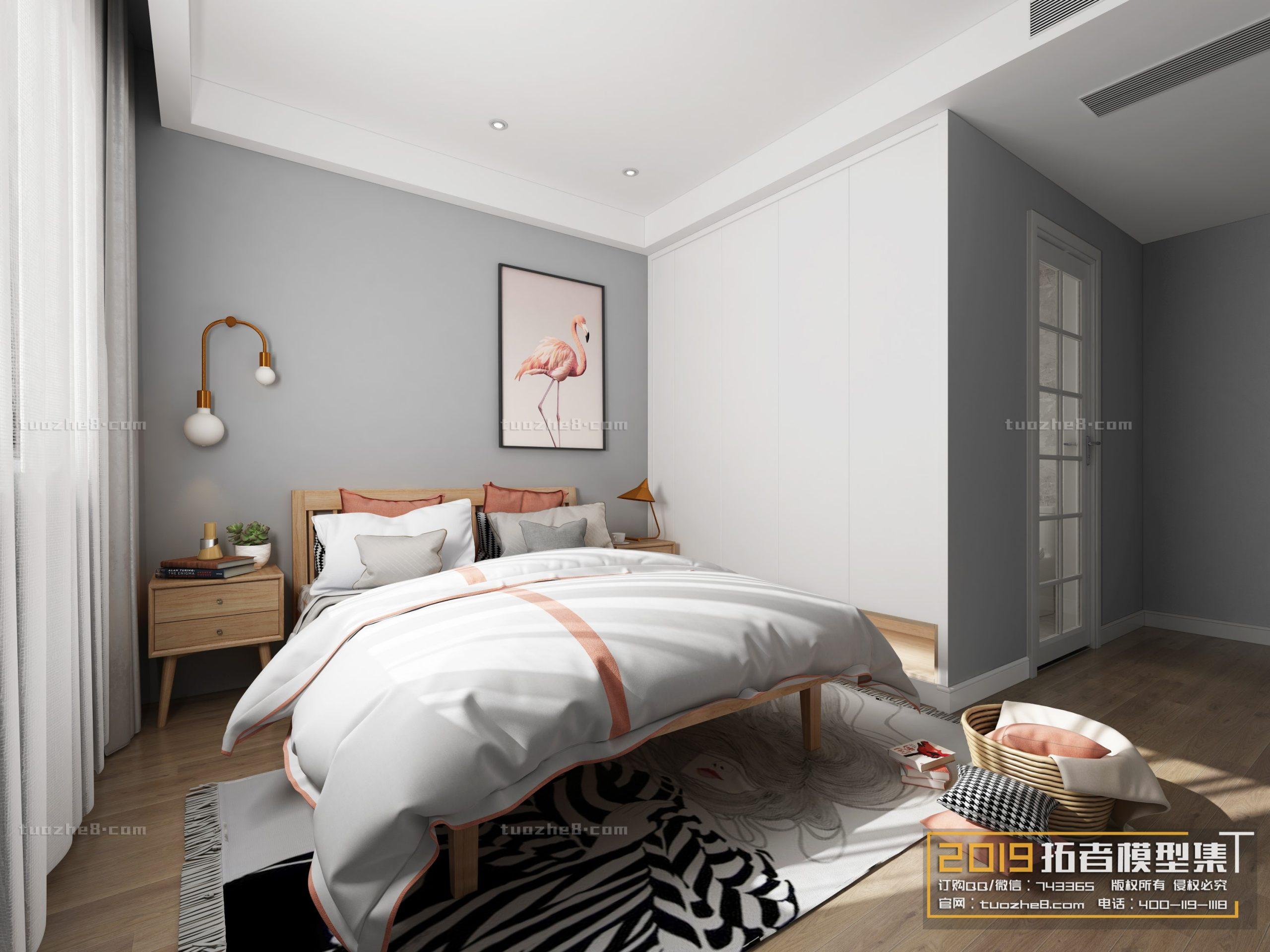 BEDROOM – NORDIC STYLE – No.001
