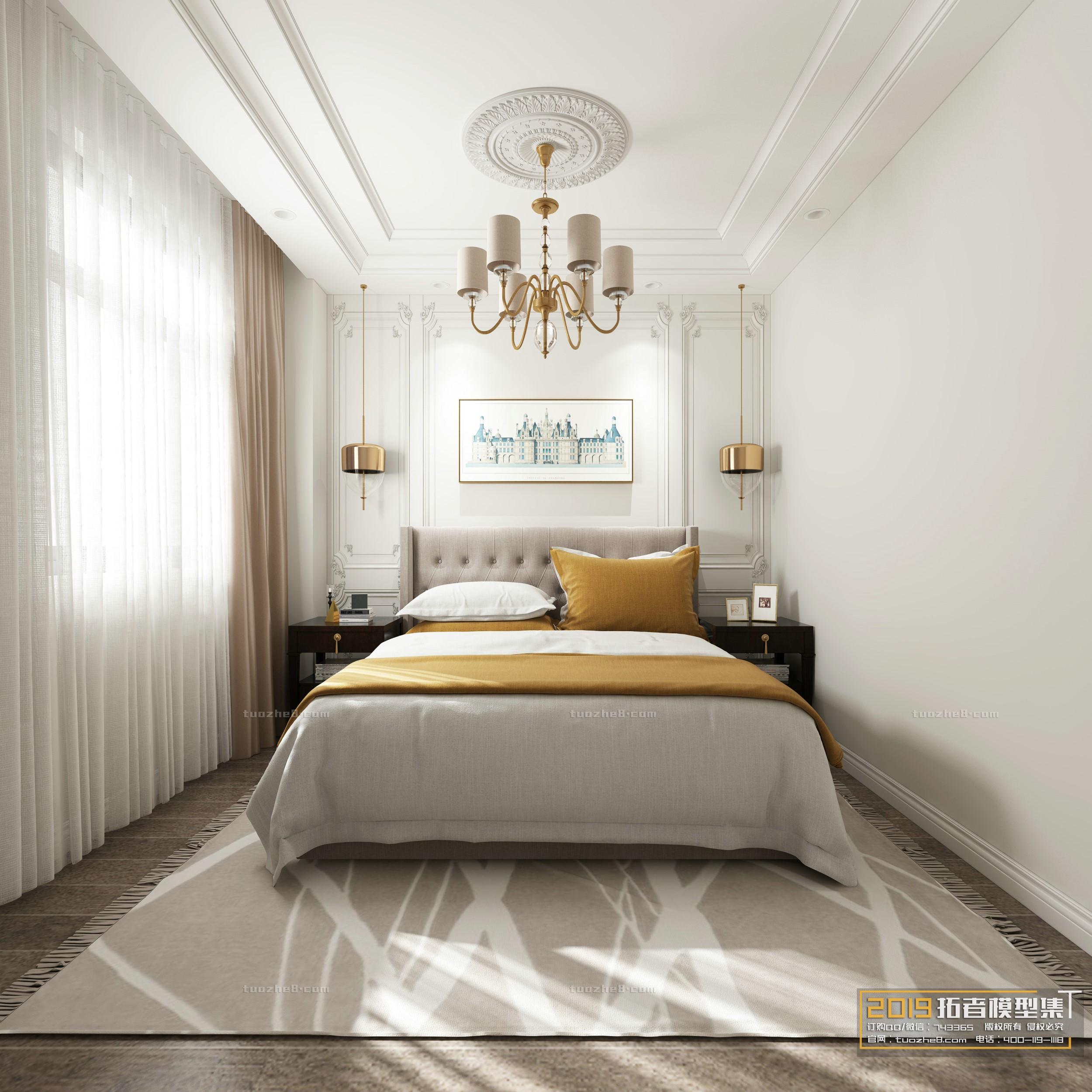 BEDROOM – AMERICAN STYLE – No.002