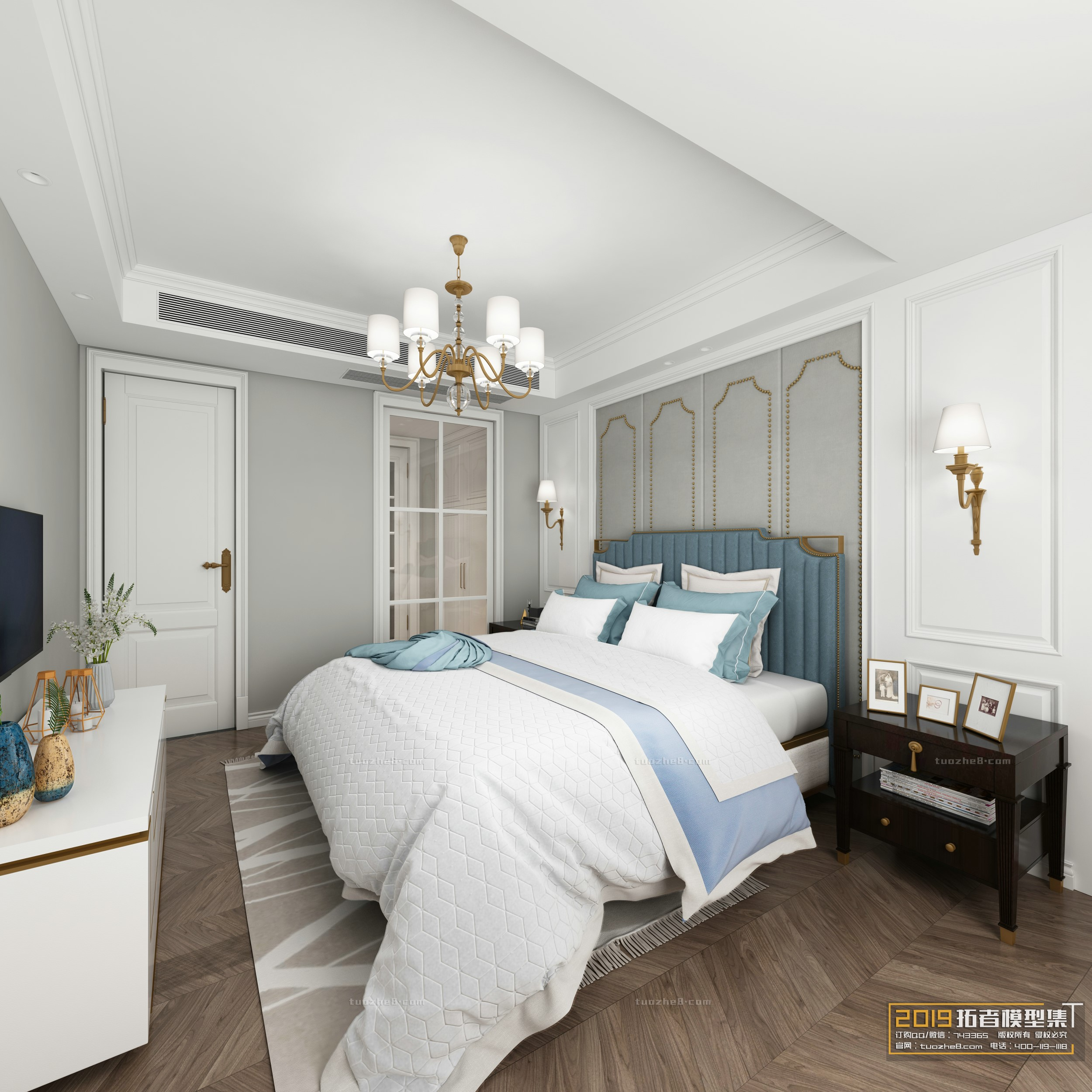 BEDROOM – AMERICAN STYLE – No.003