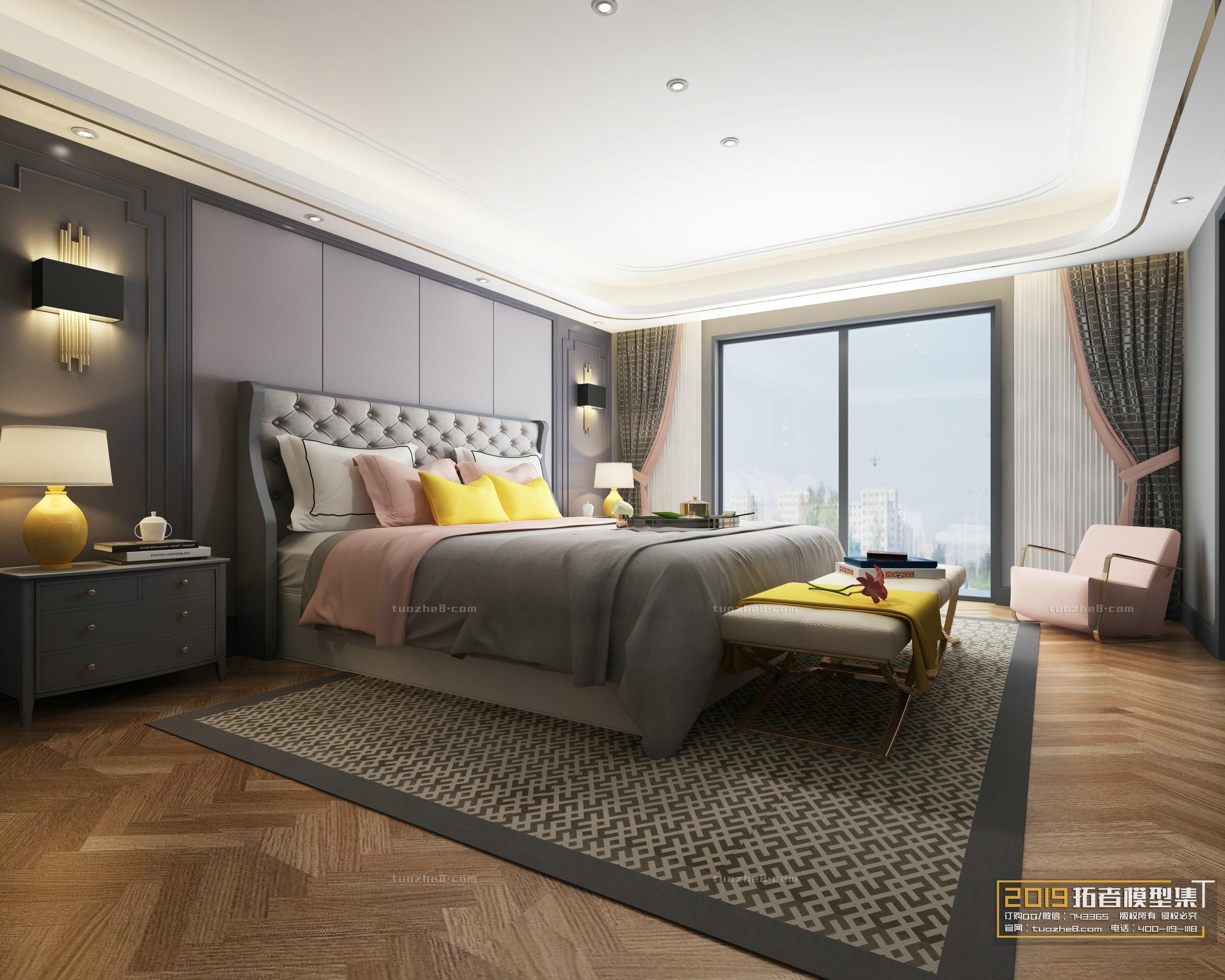BEDROOM – AMERICAN STYLE – No.005