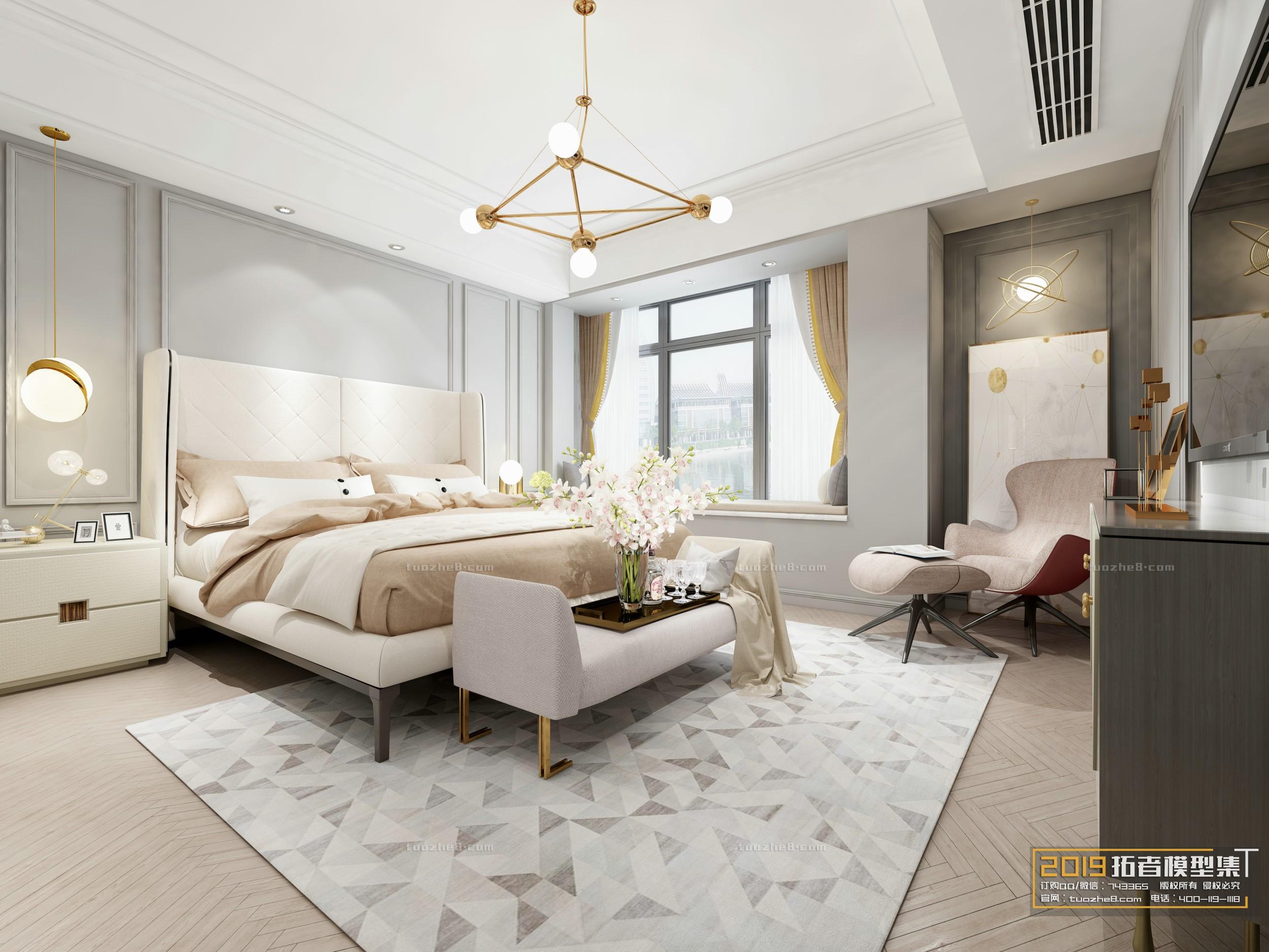 BEDROOM – AMERICAN STYLE – No.006