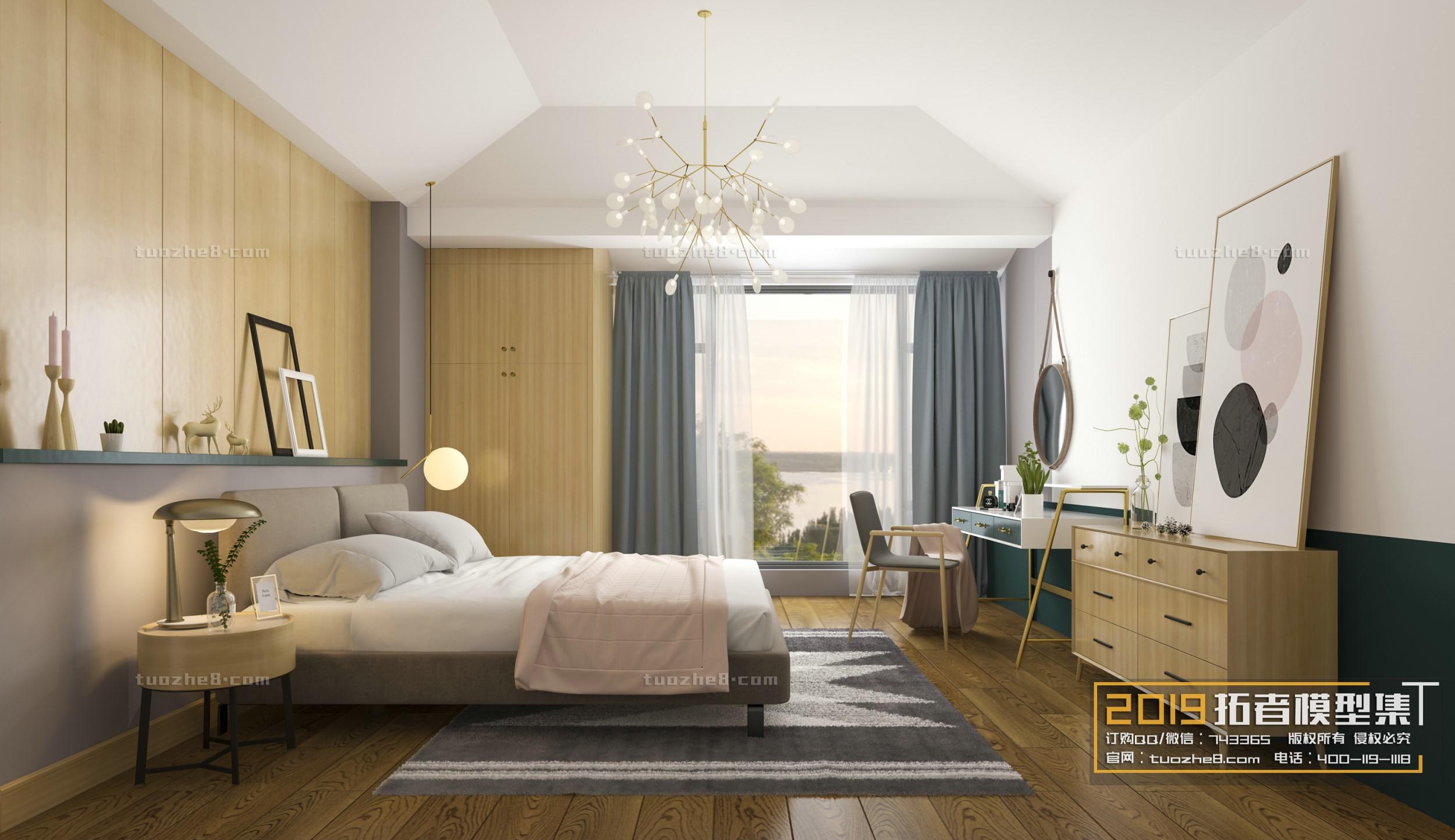 BEDROOM – NORDIC STYLE – No.006