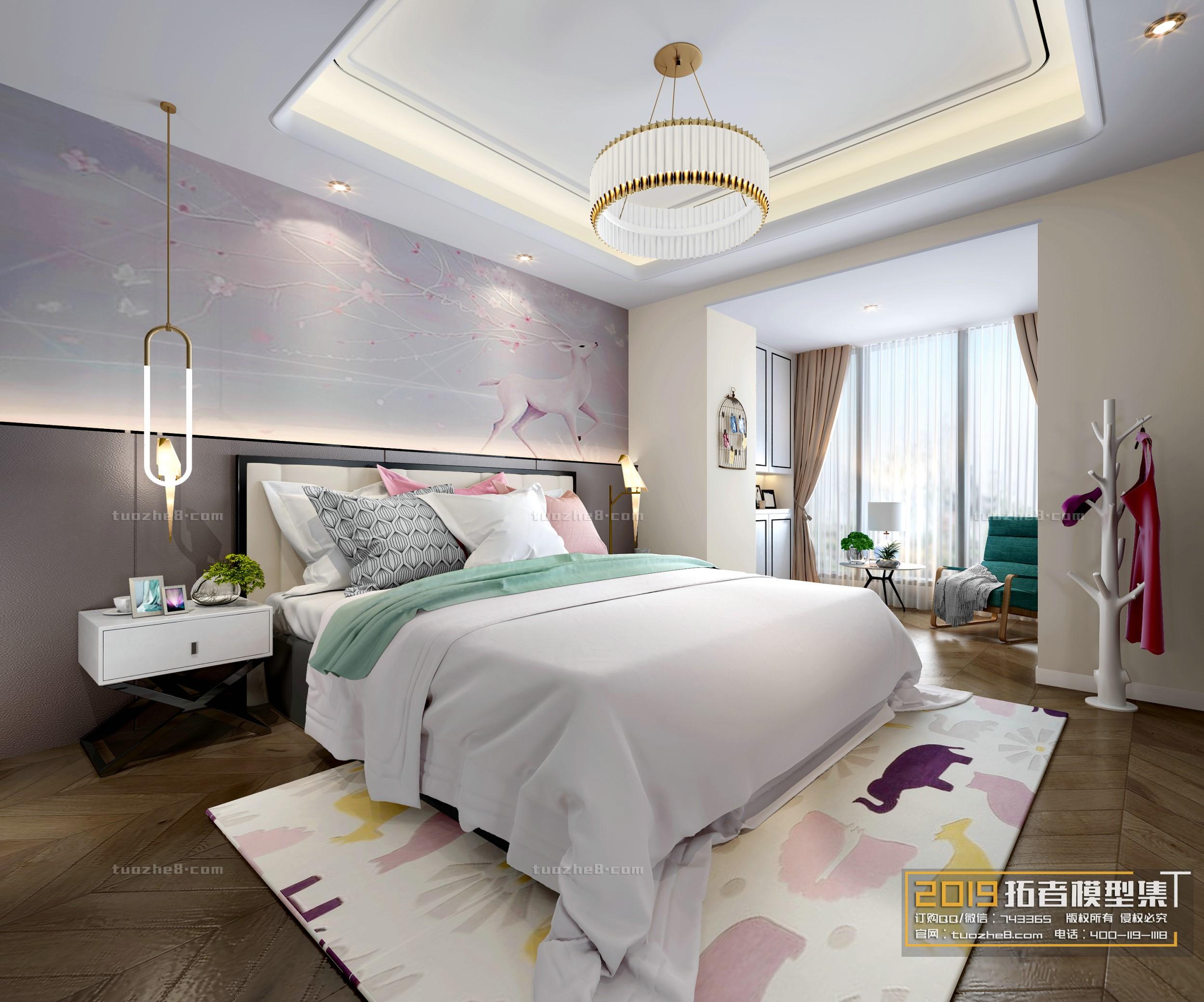 BEDROOM – NORDIC STYLE – No.007