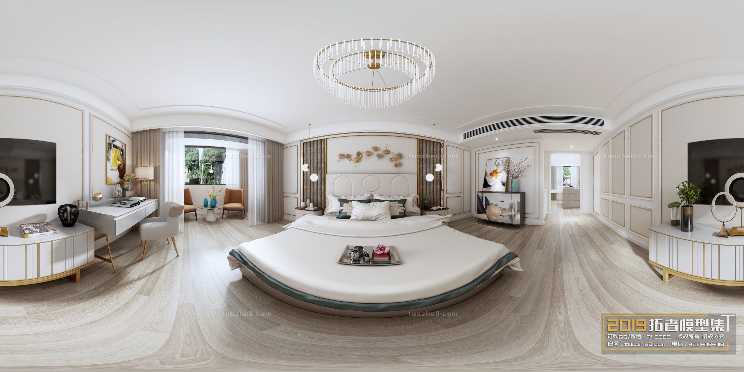 BEDROOM – AMERICAN STYLE – No.011