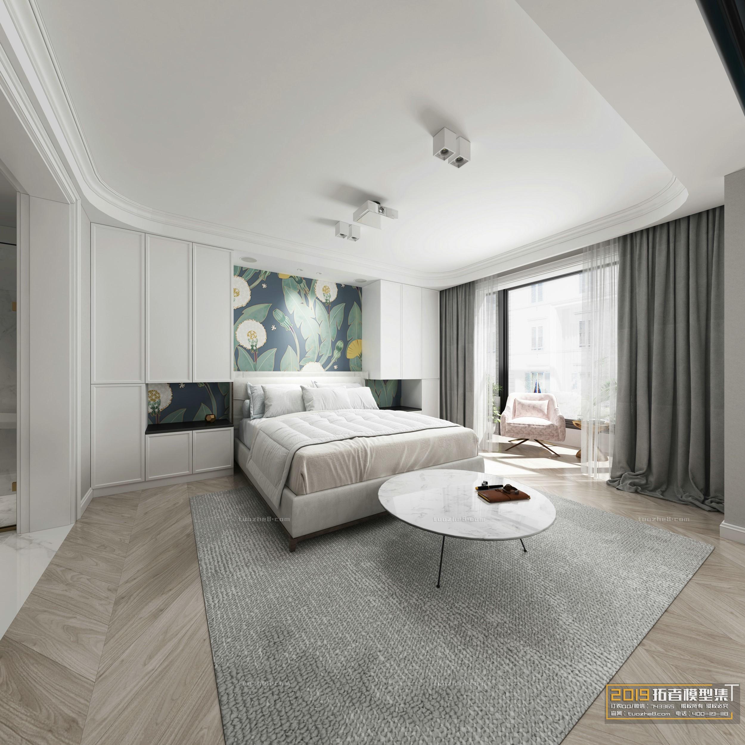 BEDROOM – NORDIC STYLE – No.011