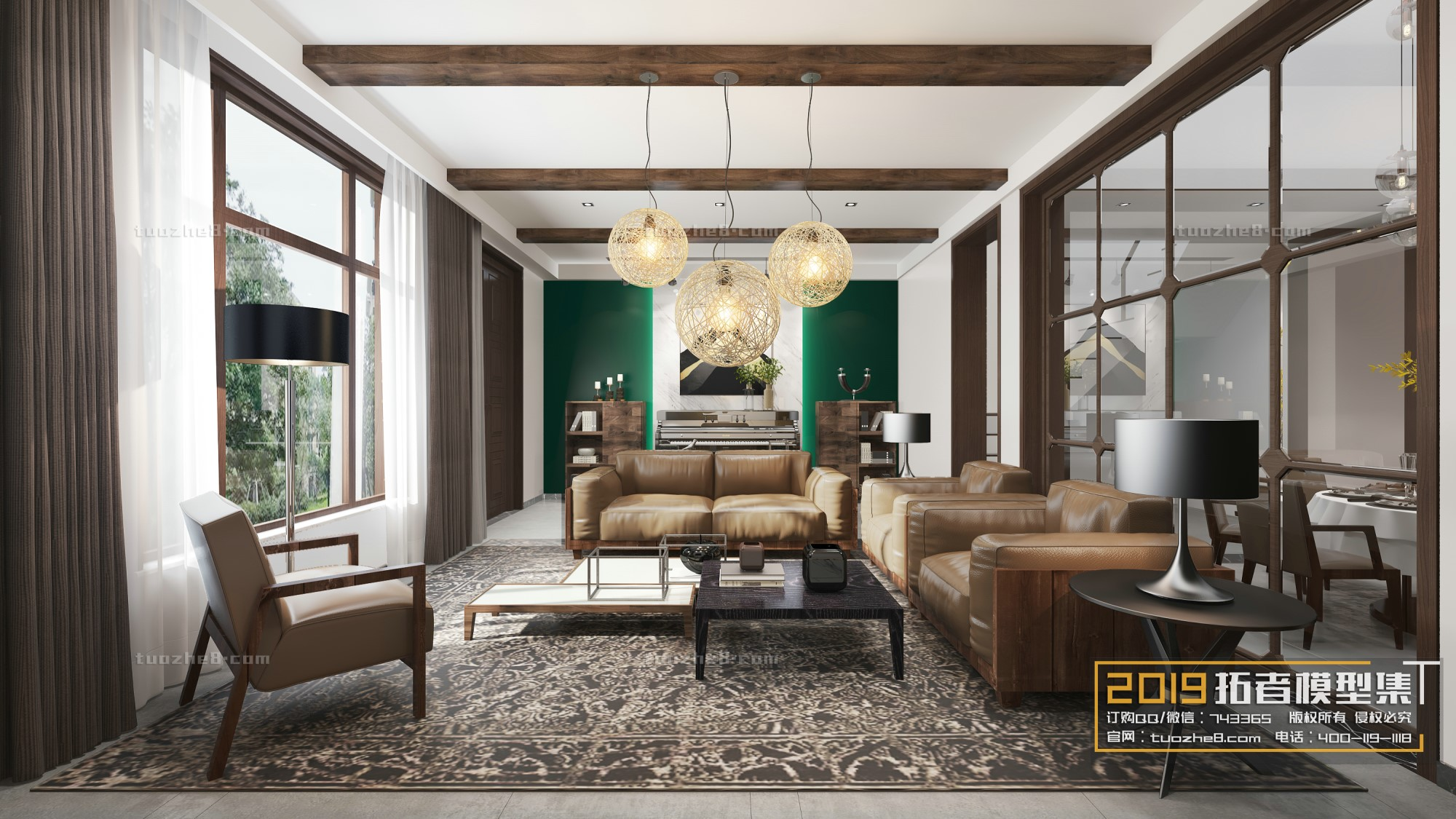 LIVING ROOM – FREE STYLE – No.012
