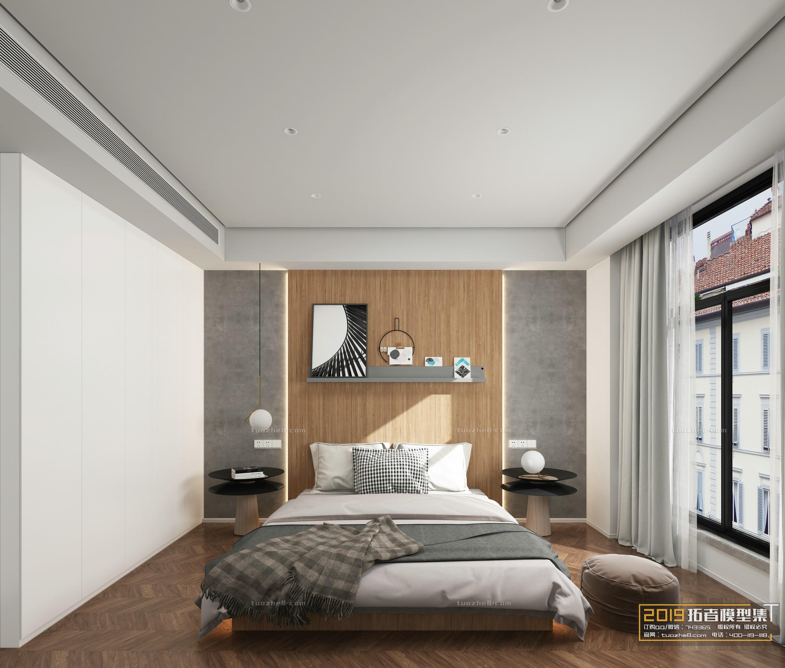 BEDROOM – NORDIC STYLE – No.013