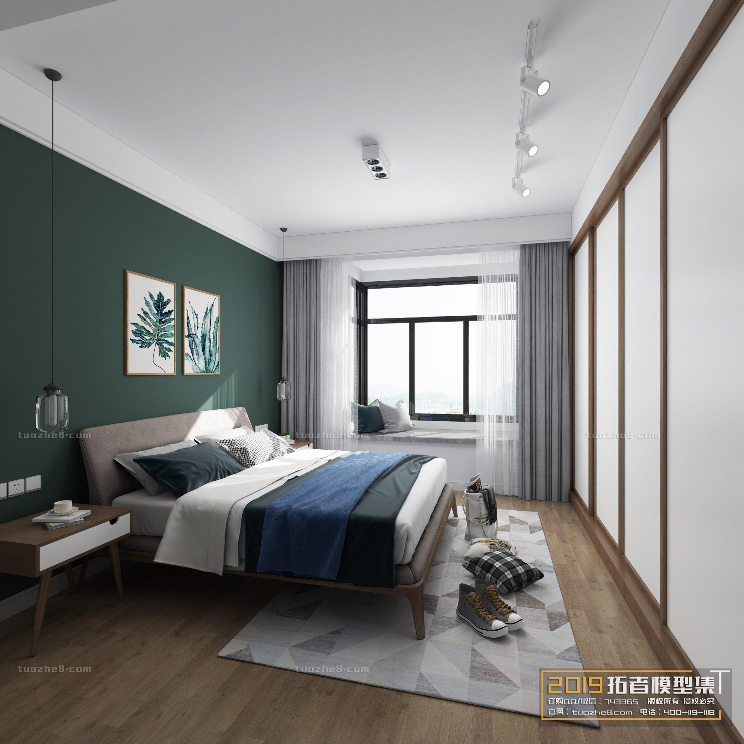 BEDROOM – NORDIC STYLE – No.014