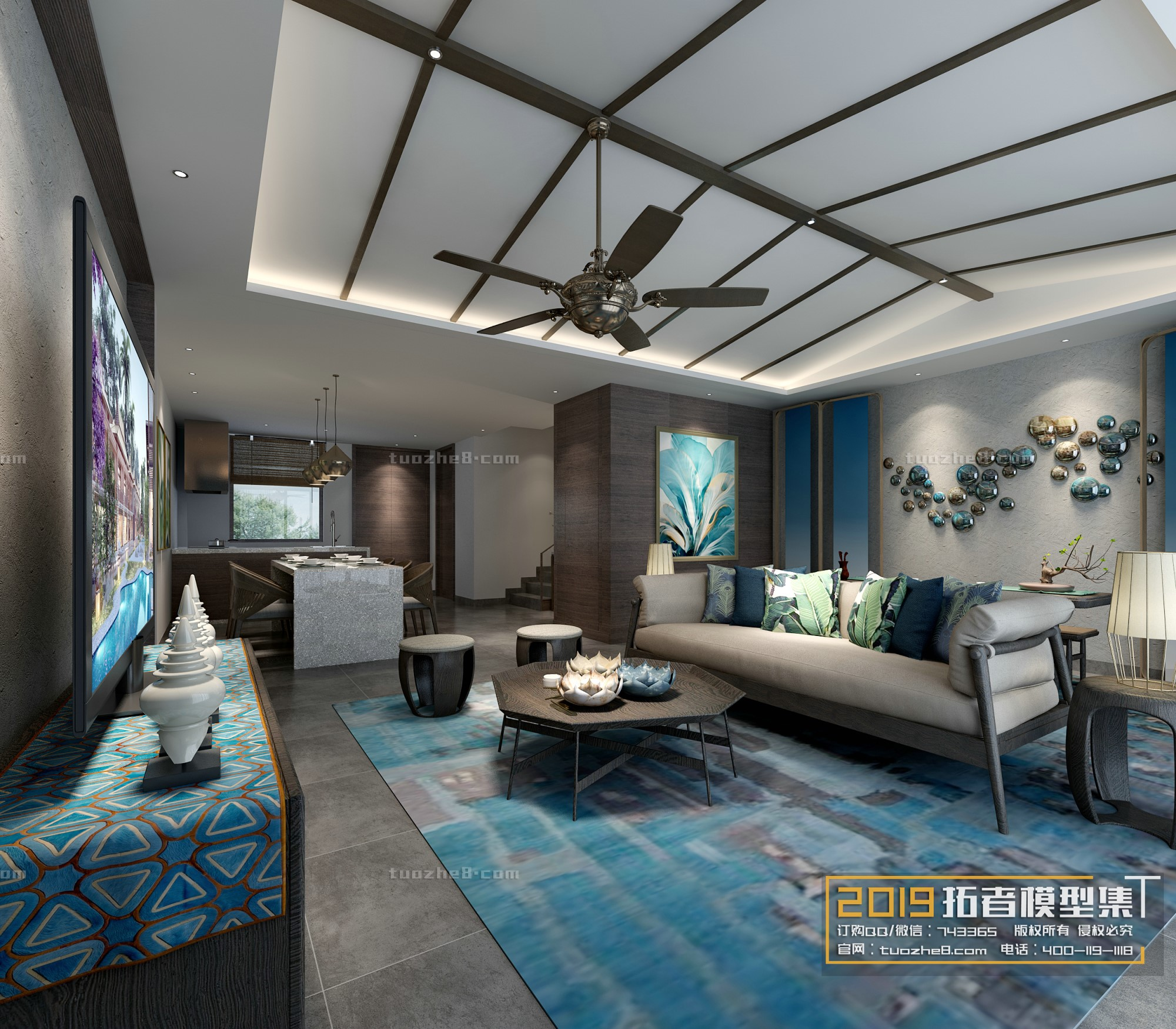 LIVING ROOM – FREE STYLE – No.015