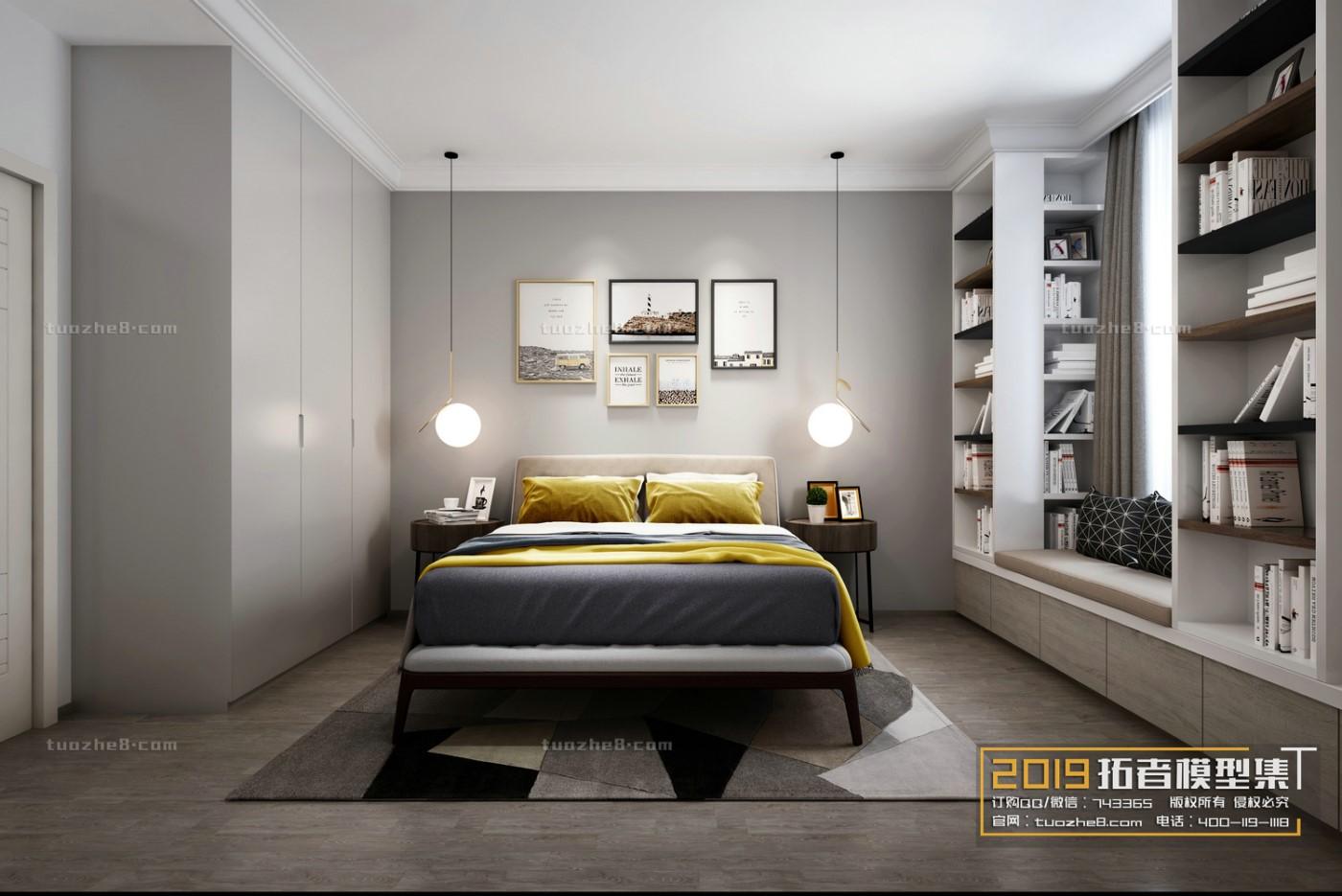 BEDROOM – NORDIC STYLE – No.017