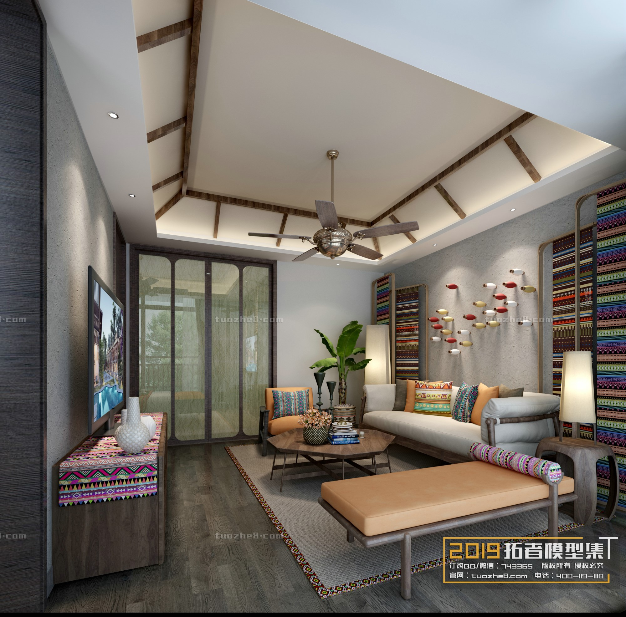 LIVING ROOM – FREE STYLE – No.017