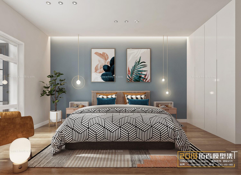 BEDROOM – NORDIC STYLE – No.018