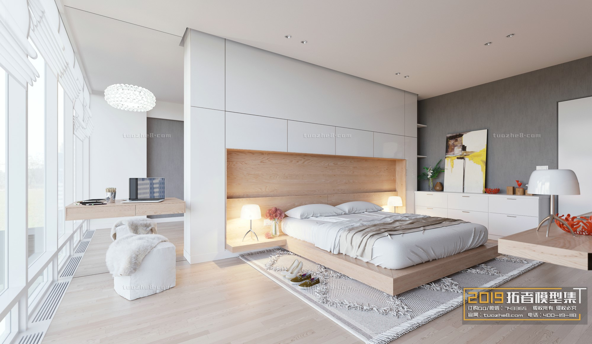 BEDROOM – NORDIC STYLE – No.021
