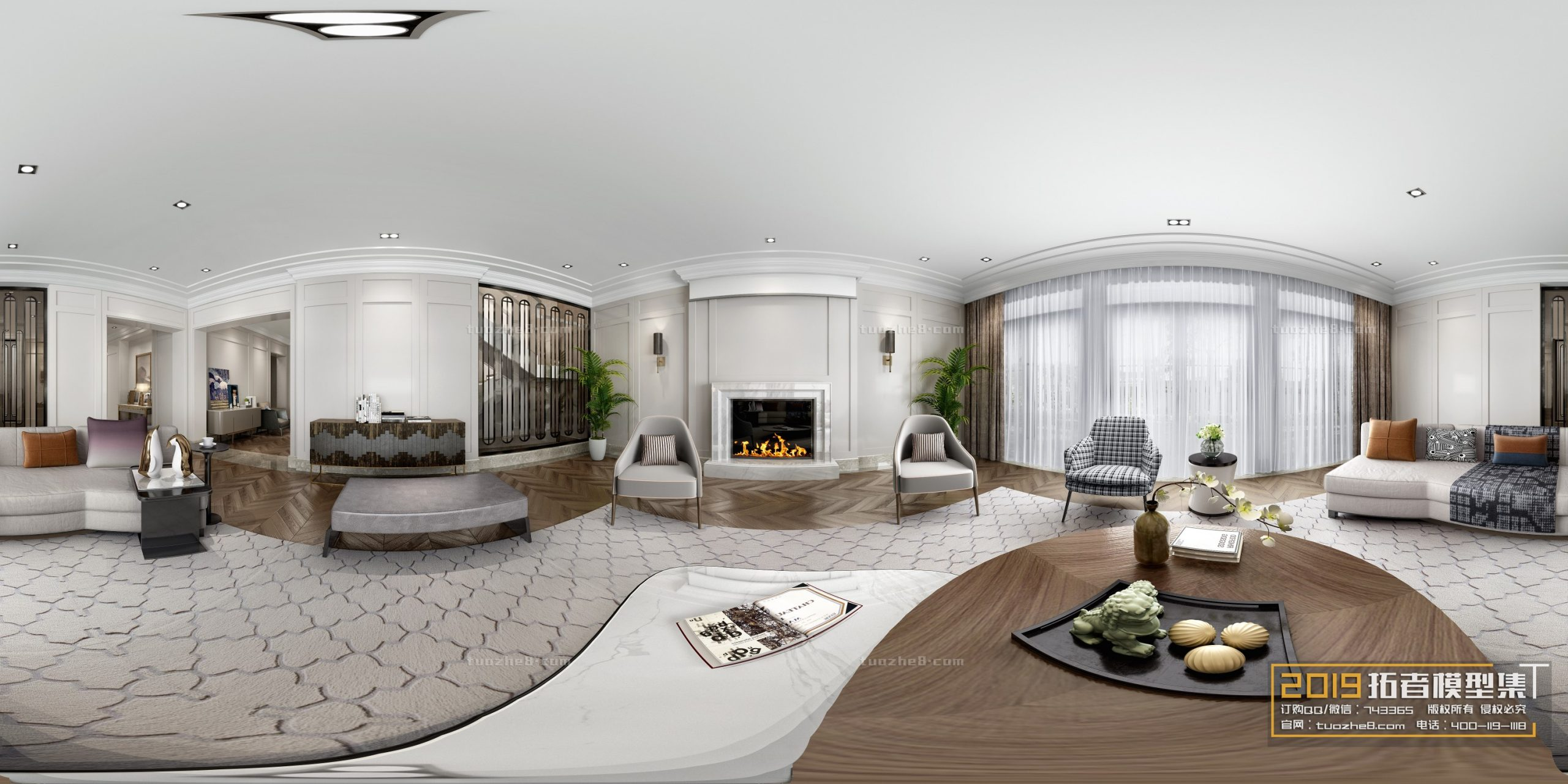 LIVING ROOM – AMERICAN STYLE – No.022