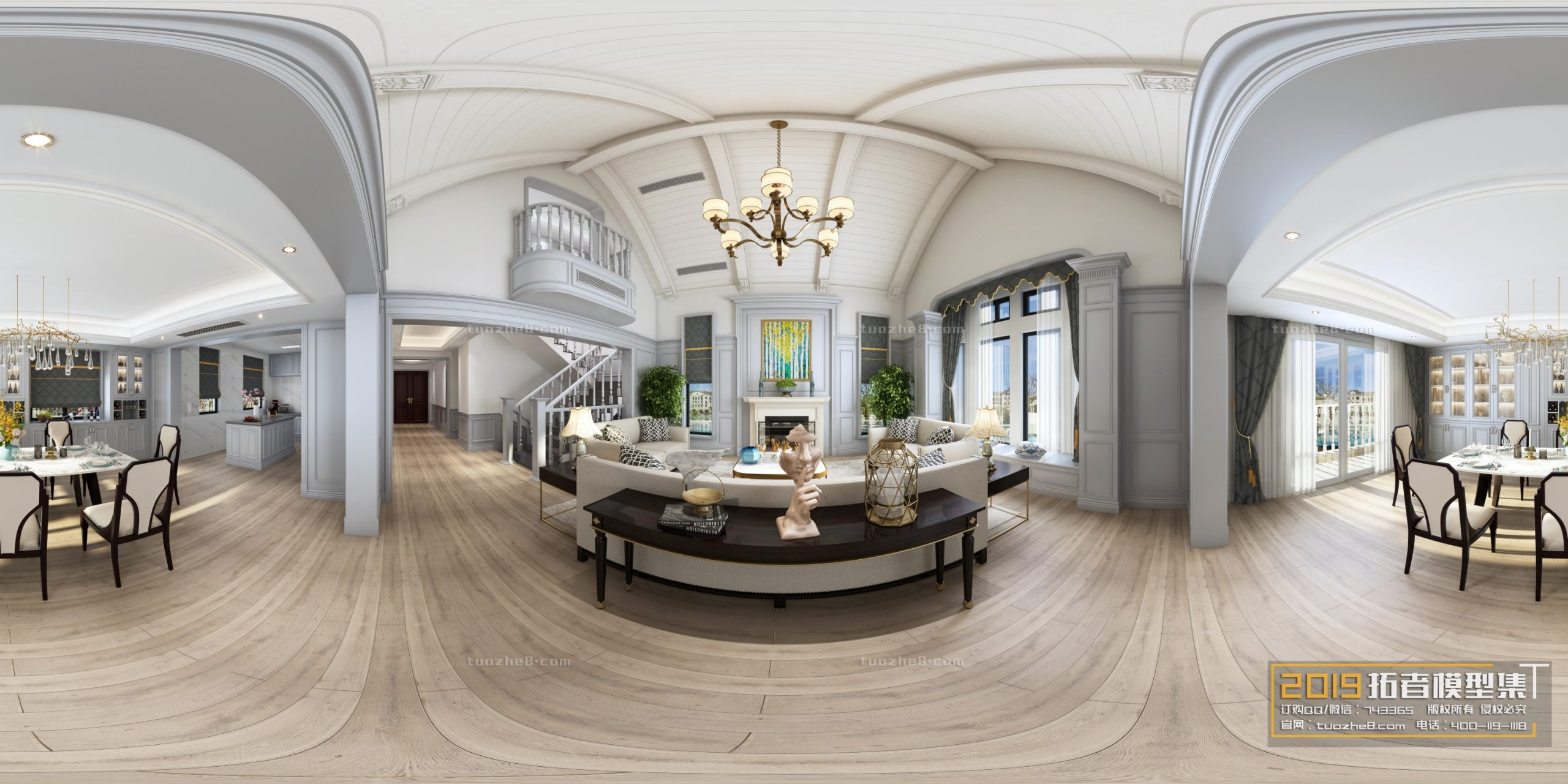 LIVING ROOM – AMERICAN STYLE – No.025