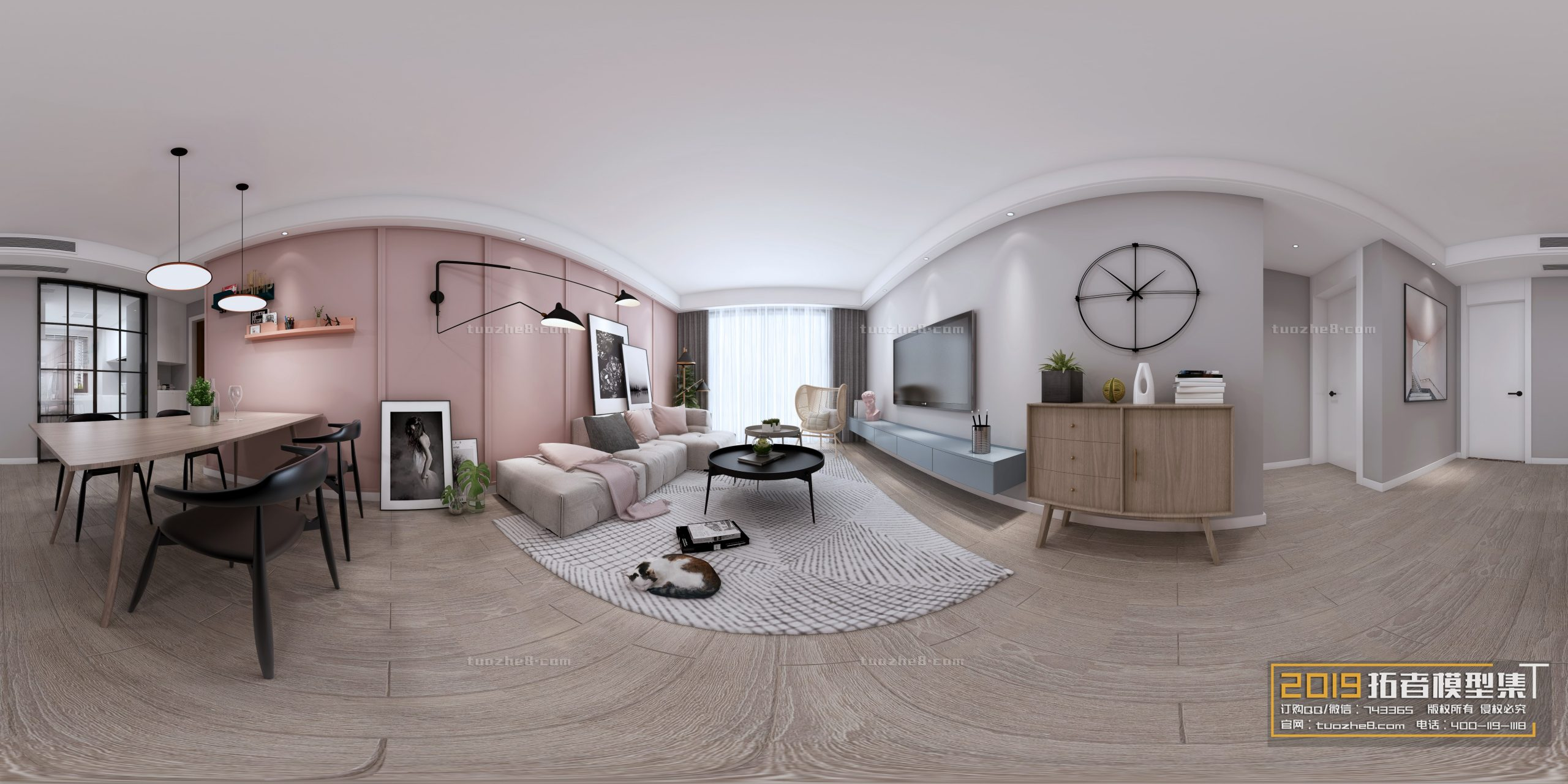 LIVING ROOM – NORDIC STYLE – No.026