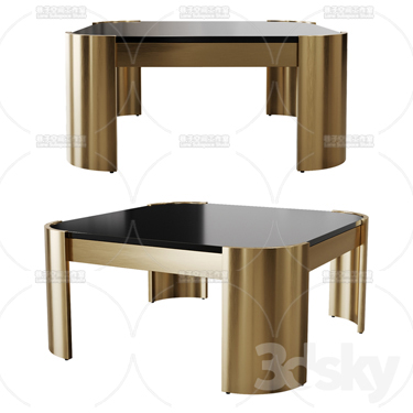 3DSKY MODELS – COFFEE TABLE – No.029