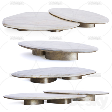 3DSKY MODELS – COFFEE TABLE – No.030