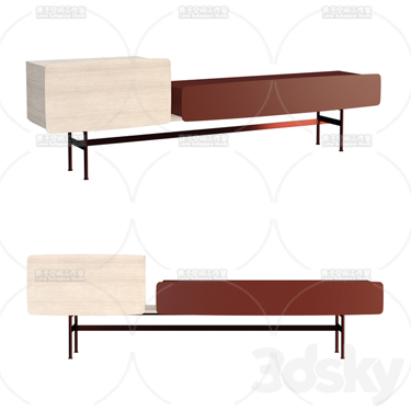 3DSKY MODELS – COFFEE TABLE – No.037