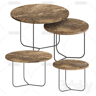 3DSKY MODELS – COFFEE TABLE – No.043