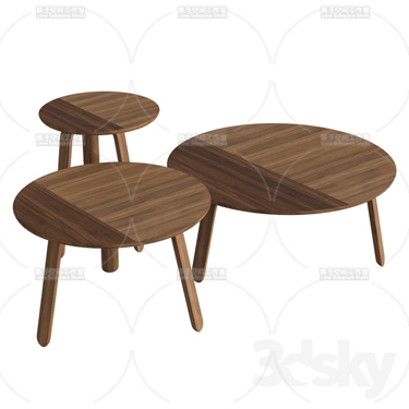 3DSKY MODELS – COFFEE TABLE – No.045