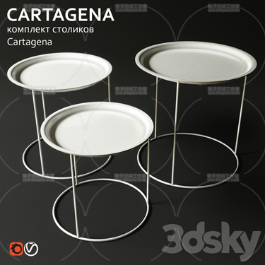 3DSKY MODELS – COFFEE TABLE – No.052