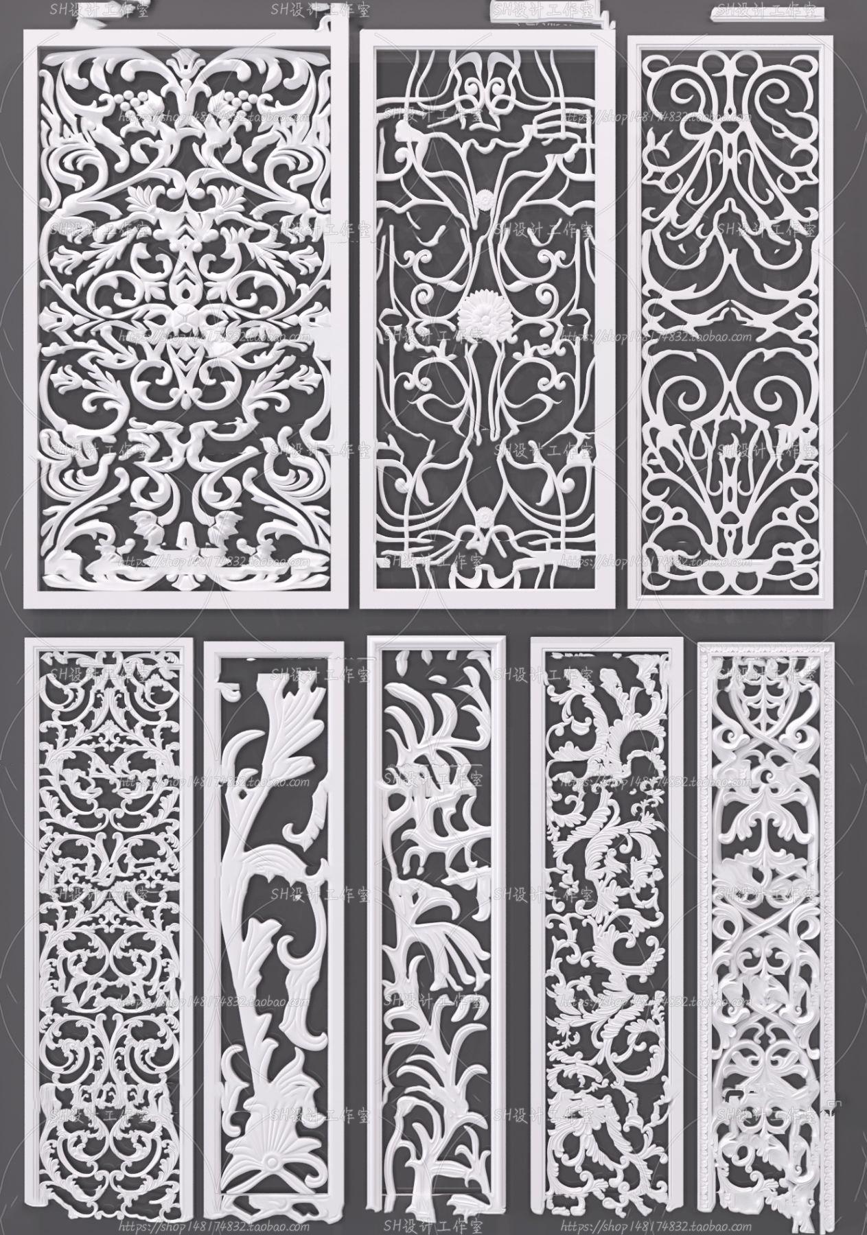 3DSKY FREE – CNC PANELS – VOL.4 – No.028