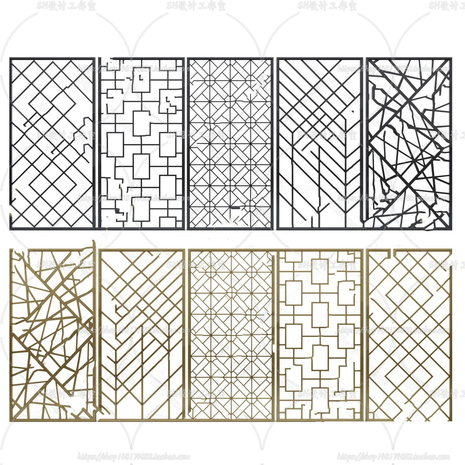 3DSKY FREE – CNC PANELS – VOL.4 – No.032