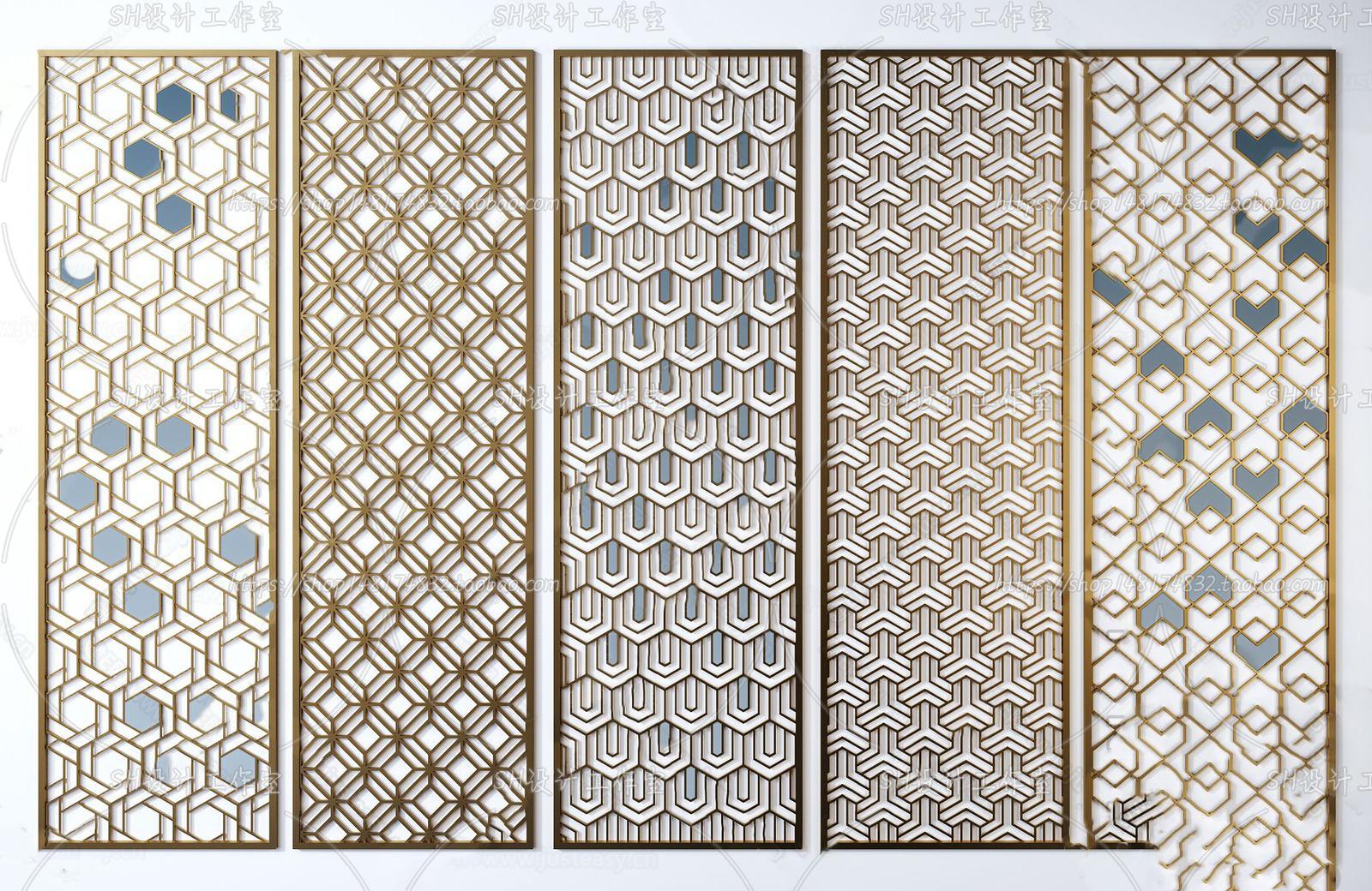 3DSKY FREE – CNC PANELS – VOL.4 – No.034