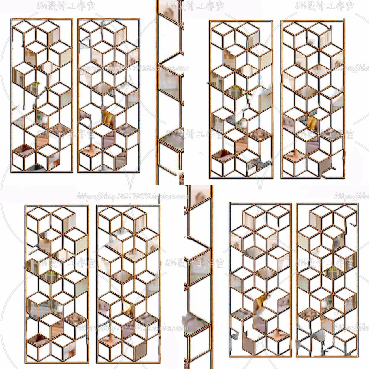 3DSKY FREE – CNC PANELS – VOL.4 – No.040
