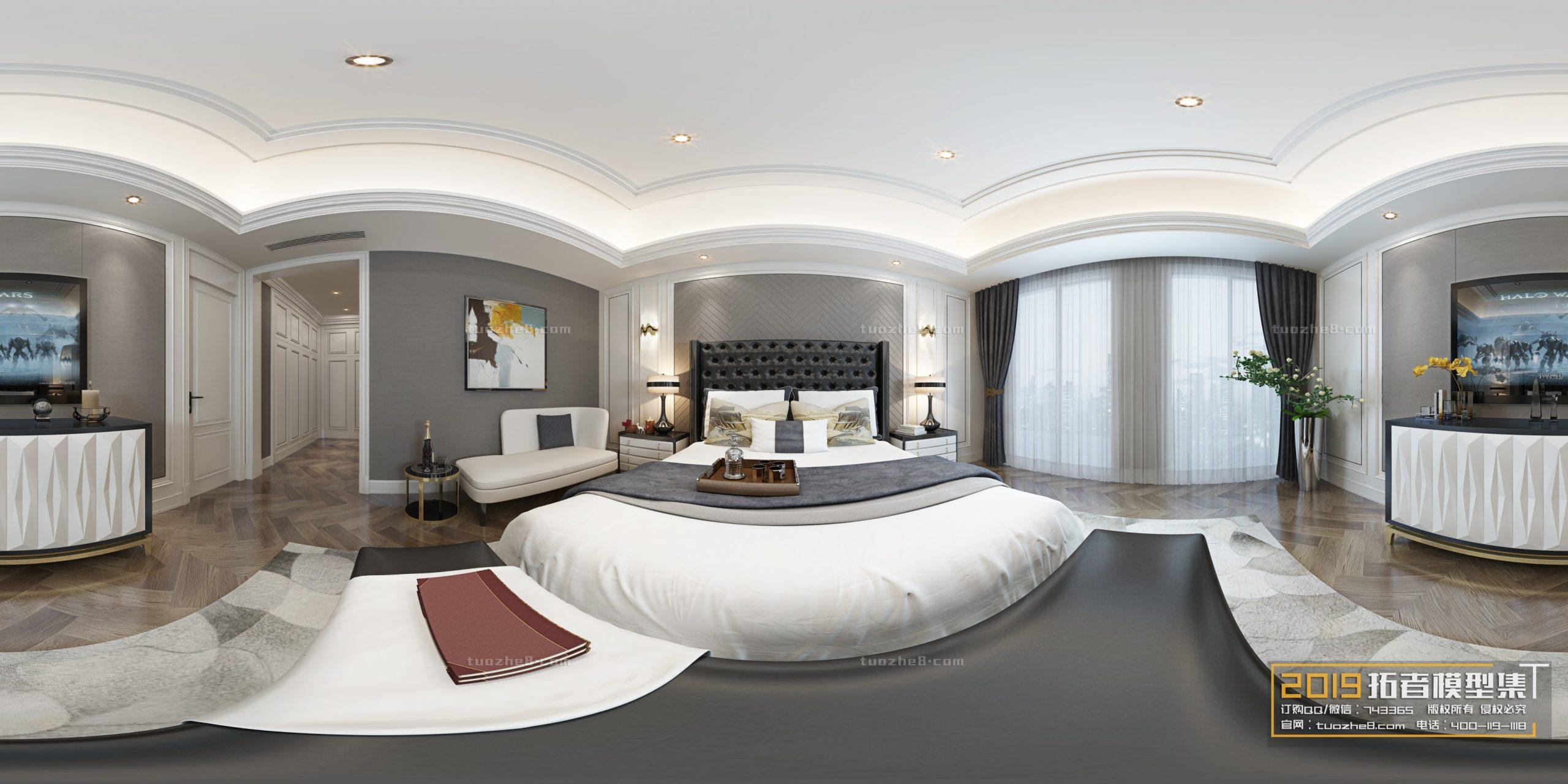 BEDROOM – EUROPEAN STYLE – No.040