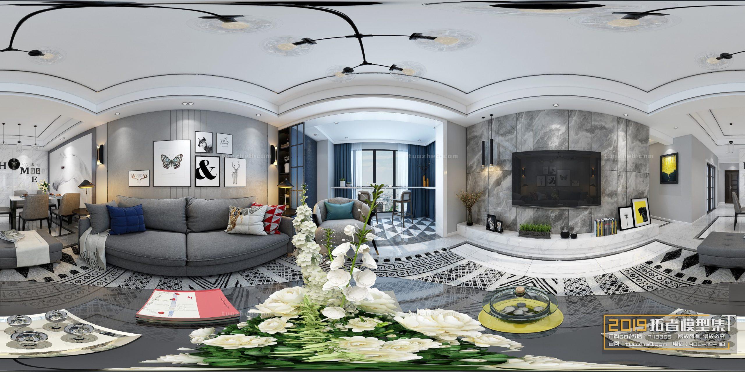 LIVING ROOM – MODERN STYLE – VOL.19 – No.218