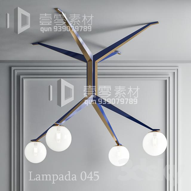 3DSKY MODELS – CEILING LIGHT – No.221