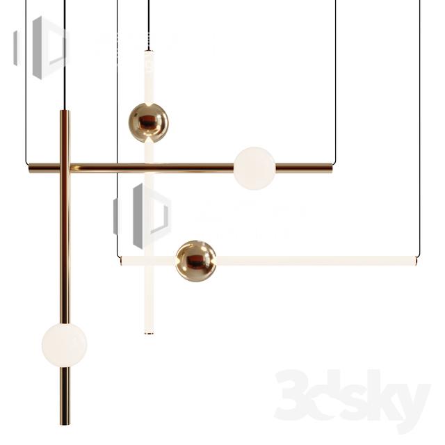 3DSKY MODELS – CEILING LIGHT – No.223