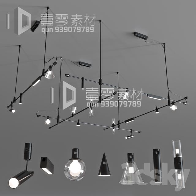 3DSKY MODELS – CEILING LIGHT – No.232