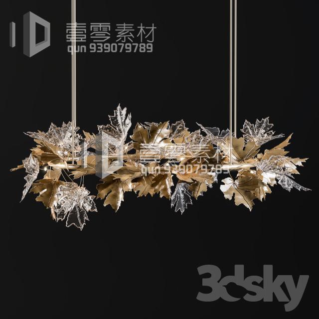 3DSKY MODELS – CEILING LIGHT – No.233