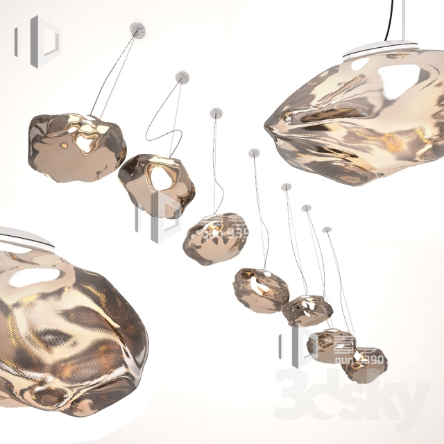 3DSKY MODELS – CEILING LIGHT – No.246
