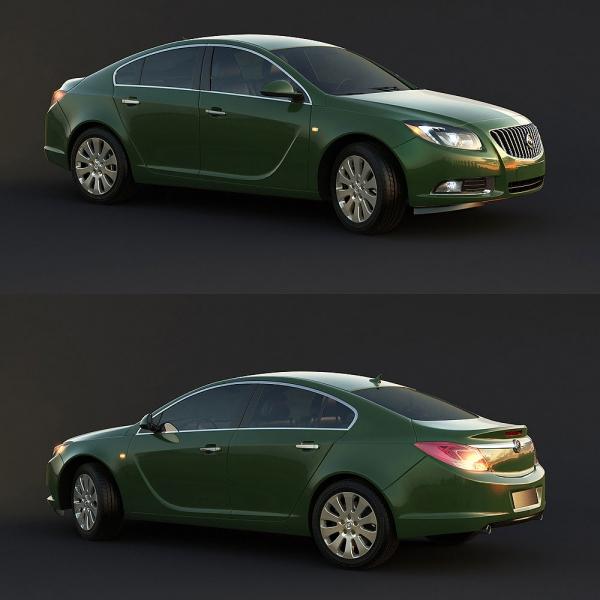 VEHICLE – CAR 3D MODELS – VOL.110 – No.011