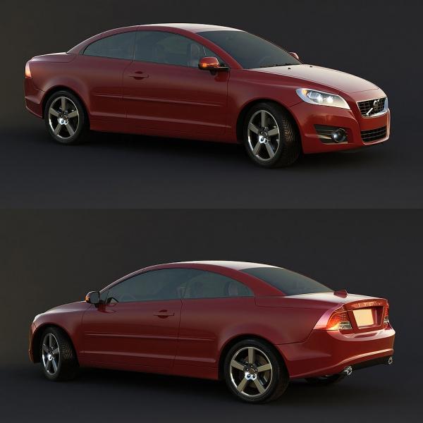 VEHICLE – CAR 3D MODELS – VOL.110 – No.017