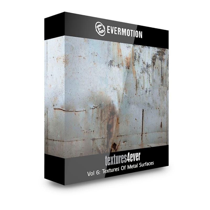 TEXTURES – Textures4ever Vol 06 – TEXTURES OF METAL SURFACES
