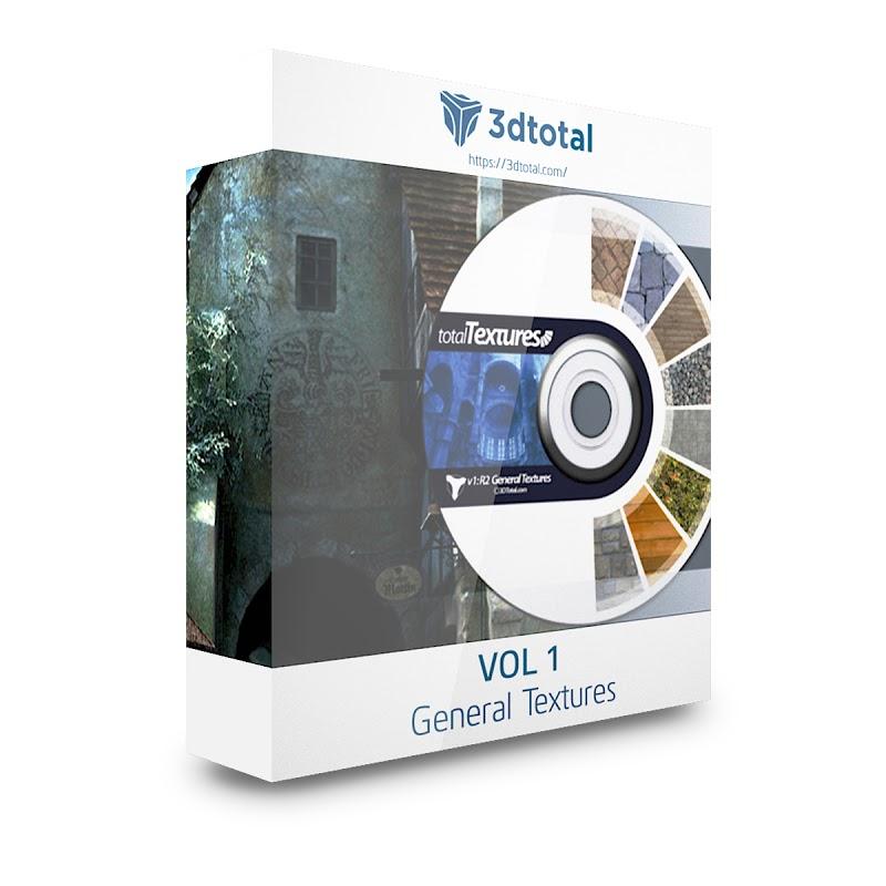 TEXTURES – 3D Total Textures – Vol. 1 Textures General