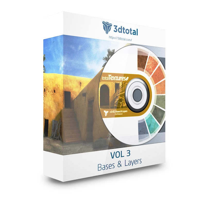 TEXTURES – 3D Total Textures – Vol. 3 Textures Base & Layers