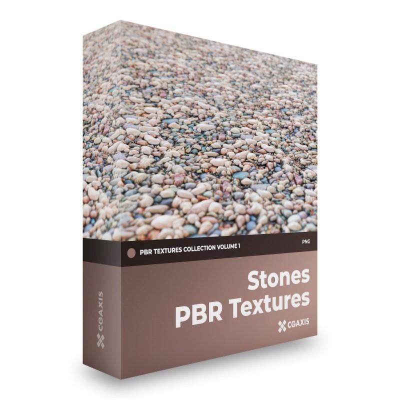TEXTURES – CGAxis PBR Colection Vol 1 Stones GRATIS