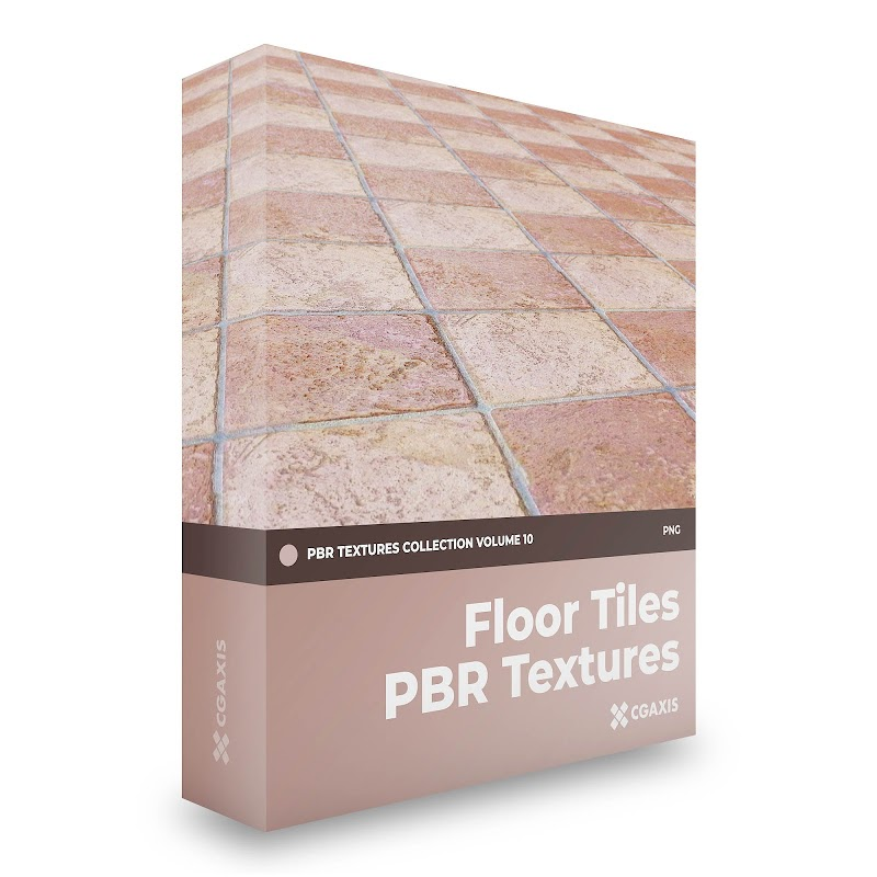 TEXTURES – CGAxis PBR Colection Vol 10 FLOOR TILES