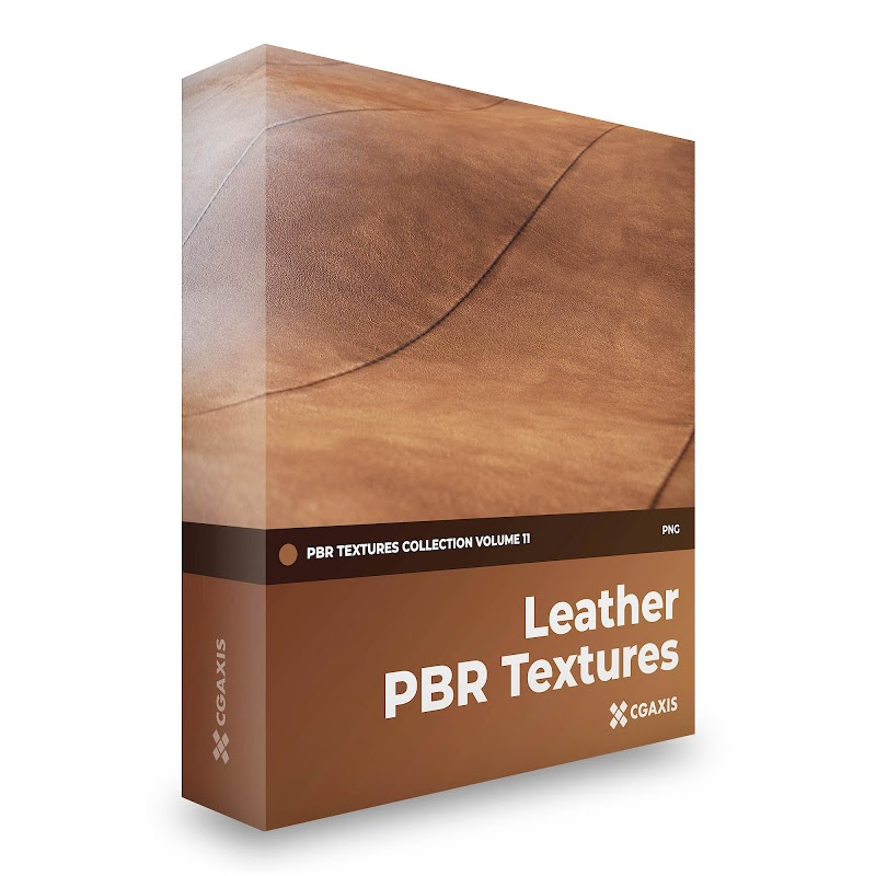 TEXTURES – CGAxis PBR Colection Vol 11 LEATHER