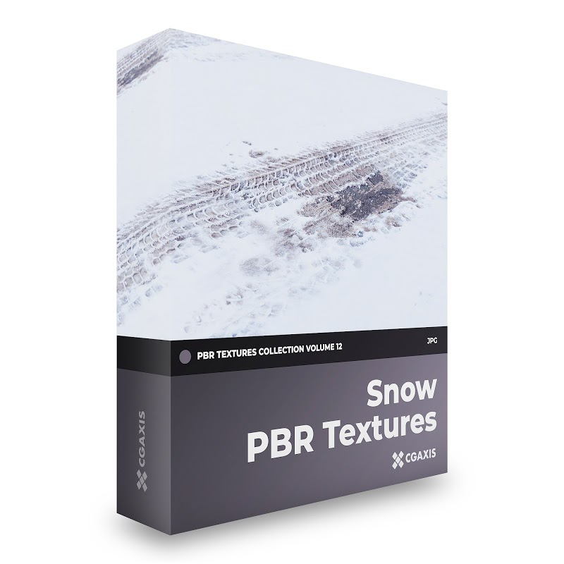 TEXTURES – CGAxis PBR Colection Vol 12 SNOW