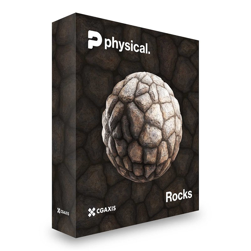 TEXTURES – CGAxis PBR Colection Vol 19 ROCKS