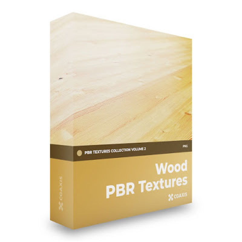 TEXTURES – CGAxis PBR Colection Vol 2 Wood GRATIS