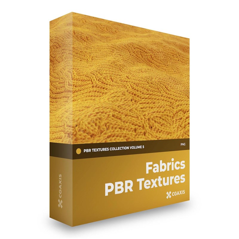 TEXTURES – CGAxis PBR Colection Vol 5 FABRICS
