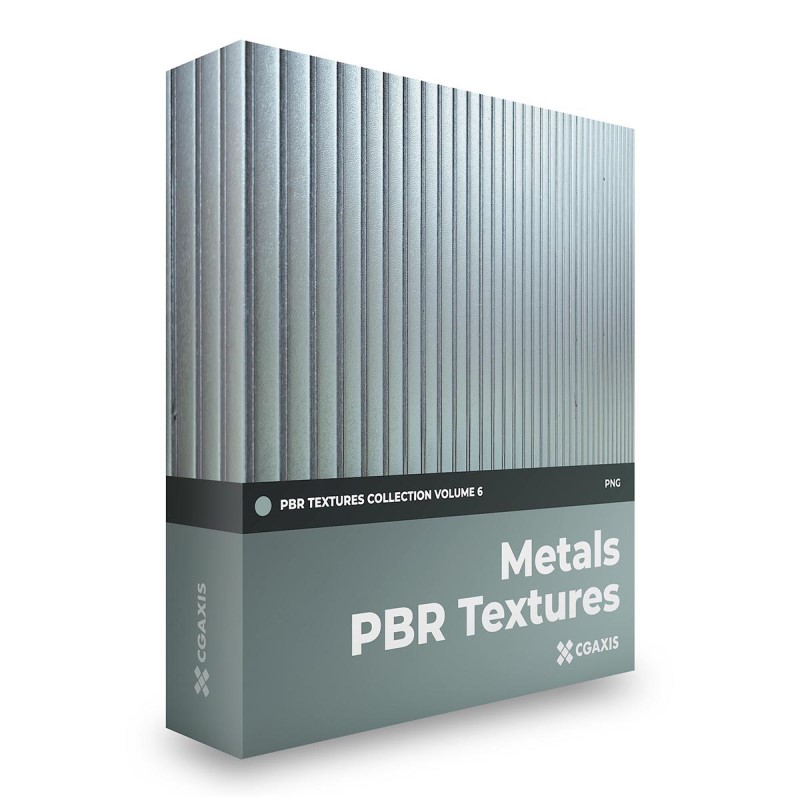 TEXTURES – CGAxis PBR Colection Vol 6 METALS